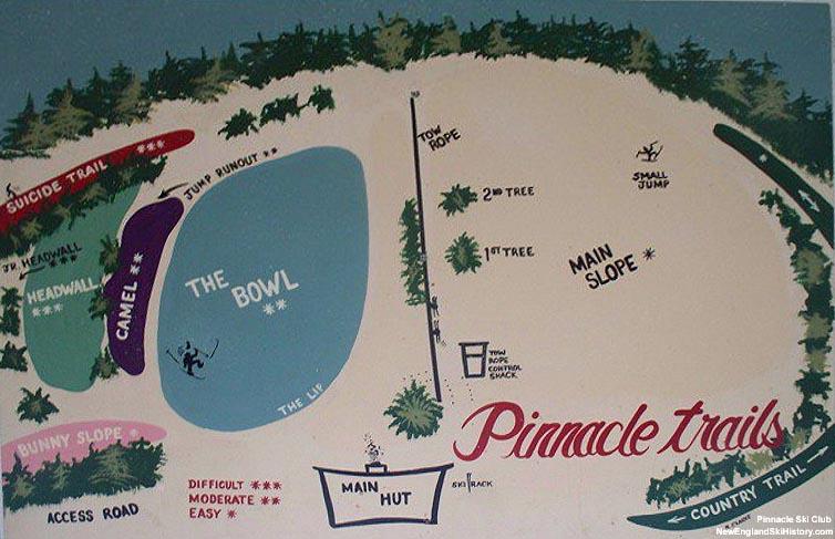 2017-18 Pinnacle Trail Map