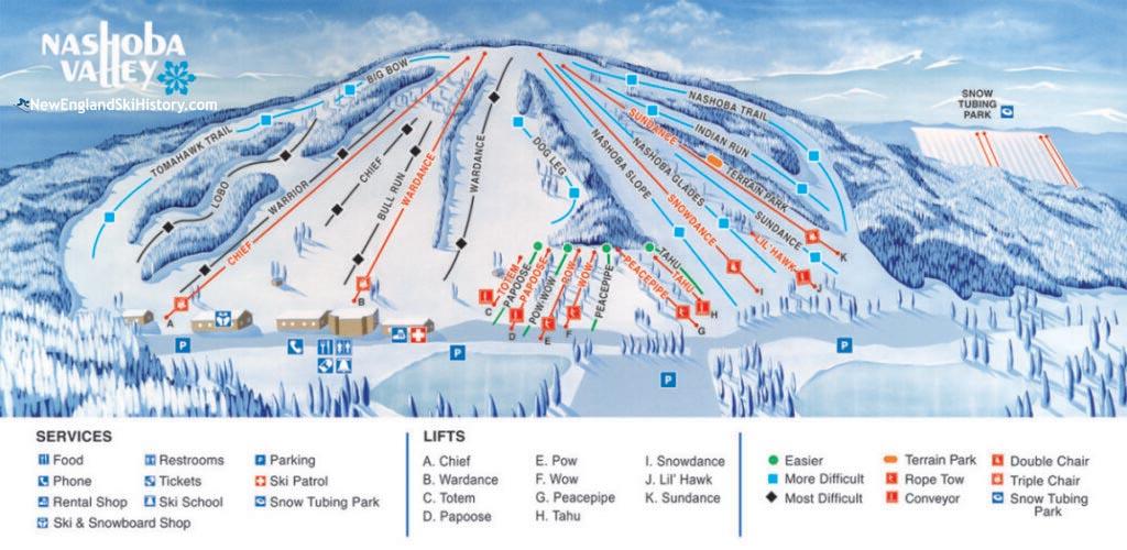 2020-21 Nashoba Valley Trail Map