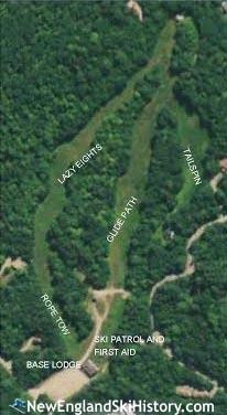 2019-20 Campton Mountain Trail Map