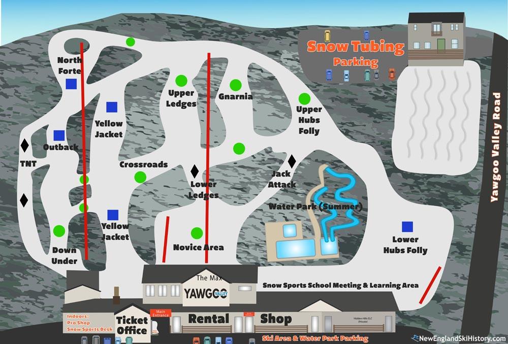 2020-21 Yawgoo Valley Trail Map