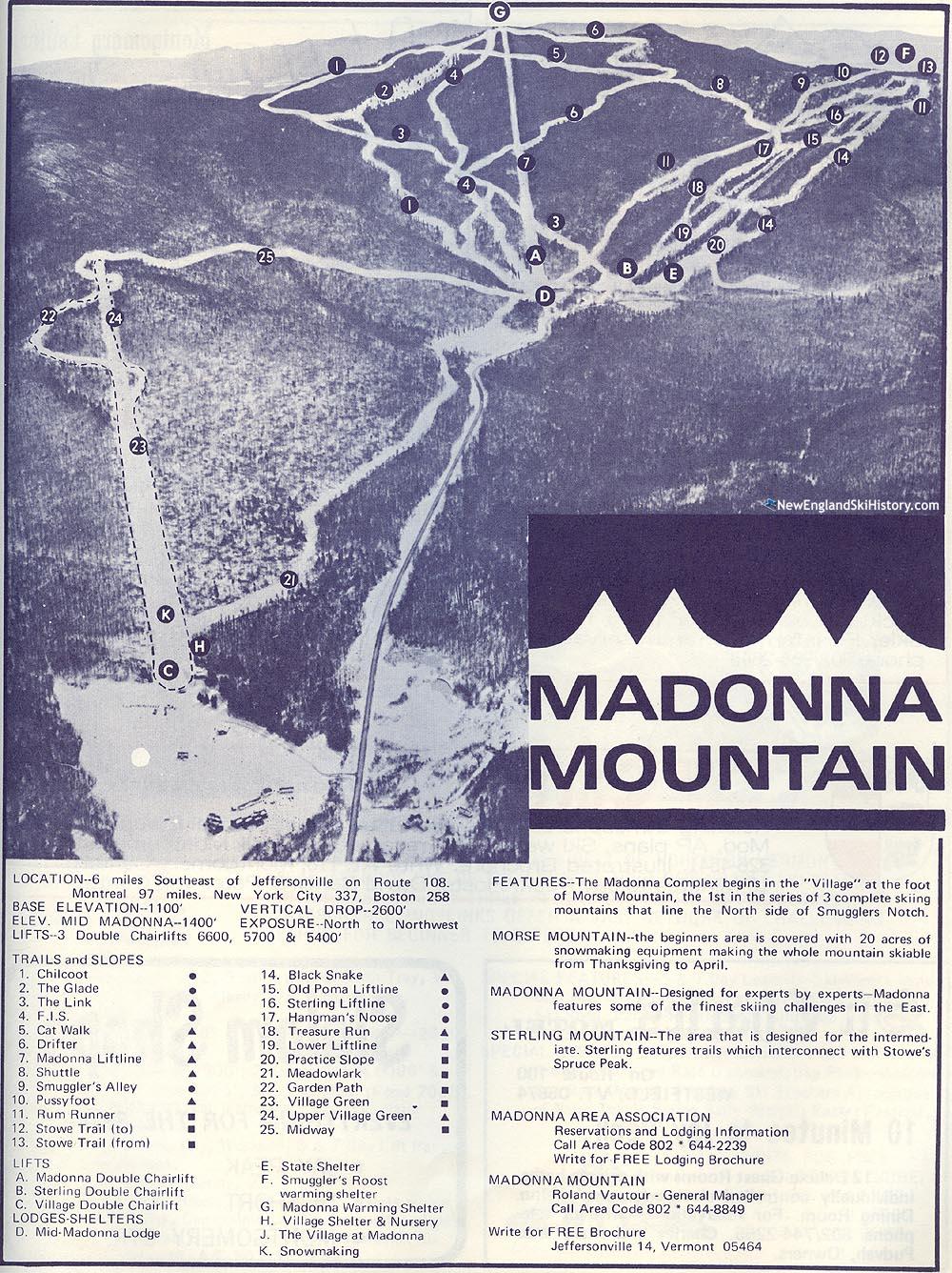1968-69 Smugglers Notch Trail Map - New England Ski Map ... on pico peak ski map, pagosa springs co ski map, vermont ski map, lea sd ski map, smugglers map mountain, sugarbush ski map, smuggler s notch map, jay peak ski map, park city ski map, weston ski map, vermont smugglers' notch map,