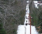 The Mt. Jefferson T-Bar circa the 2010s