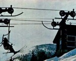 The Zoomer Double Chairlift circa the 1960s