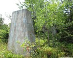 One of the top sets of tower footings (2014)