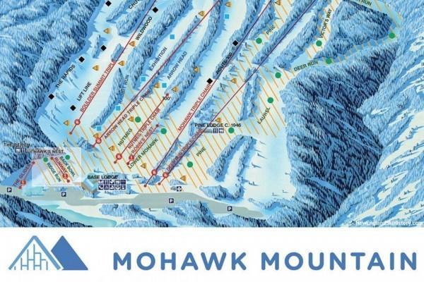 2020-21 Mohawk Mountain Trail Map