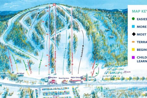 2020-21 Mt. Southington Trail Map