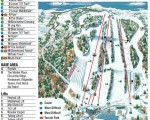 2017-18 Powder Ridge Trail Map