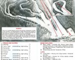1980-81 Ski Sundown Trail Map
