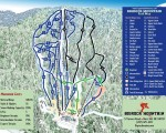 2013-14 Big Rock Trail Map