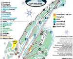 2010-11 Black Mountain Trail Map