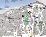 2009-10 Camden Snow Bowl Trail Map