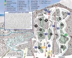 2013-14 Camden Snow Bowl Trail Map