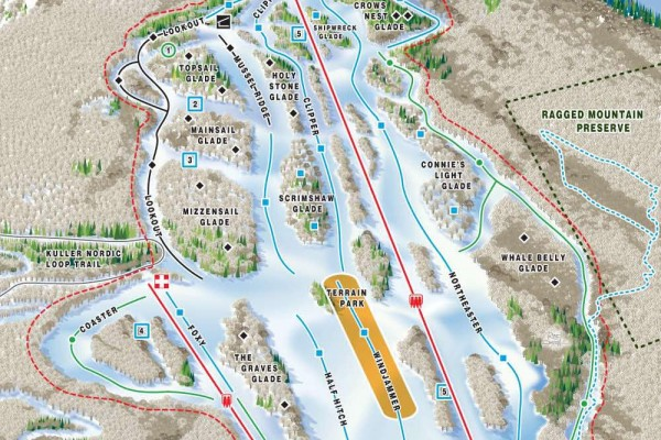2020-21 Camden Trail Map