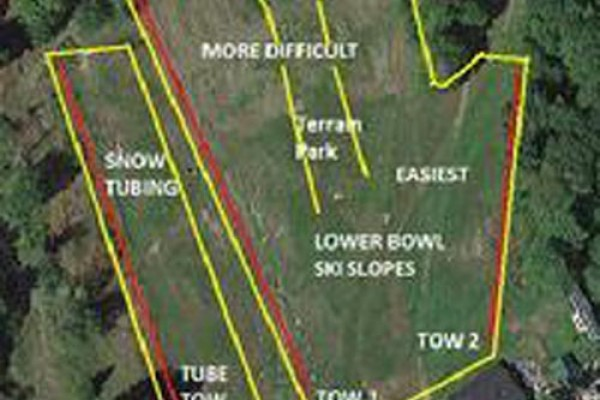 2015-16 Eaton Mountain Trail Map