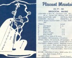1964-65 Pleasant Mountain Trail Map