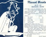 1967-68 Pleasant Mountain Trail Map