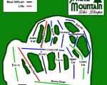 2009-10 Spruce Mountain Trail Map