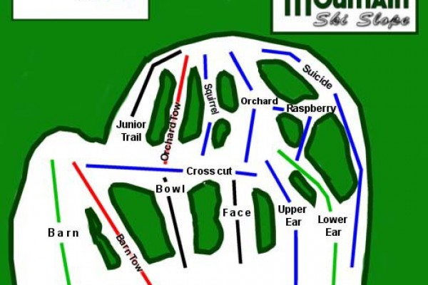 2016-17 Spruce Mountain Trail Map