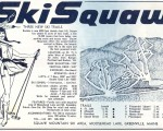 1967-68 Ski Squaw Trail Map
