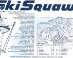 1969-70 Squaw trail map