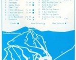 1975-76 Squaw Mountain Trail Map
