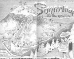 1955-56 Sugarloaf Trail Map