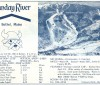 1964-65 Sunday River Skiway Trail Map