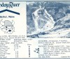 1967-68 Sunday River Skiway Trail Map