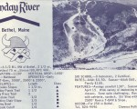 1968-69 Sunday River Trail Map