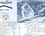 1969-70 Sunday River trail map