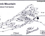 2001-02 Titcomb Mountain Trail Map