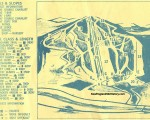 1969-70 Berkshire East Trail Map