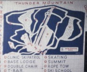 1961-62 Thunder Mountain Trail Map