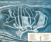 1964-65 Thunder Mountain Trail Map