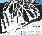 1999-00 Blandford Trail Map