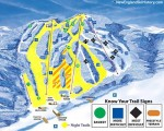 2015-16 Ski Blandford Trail Map