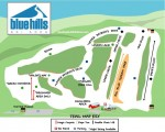 2009-10 Blue Hills Trail Map