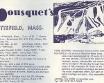 1968-69 Bousquet Trail Map