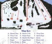 1998-99 Ski Bradford Trail Map