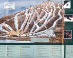 1999-00 Brodie Trail Map