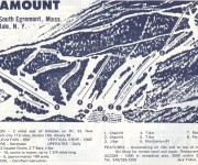 1970-71 Catamount Trail Map