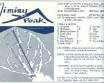 1964-65 Jiminy Peak Trail Map