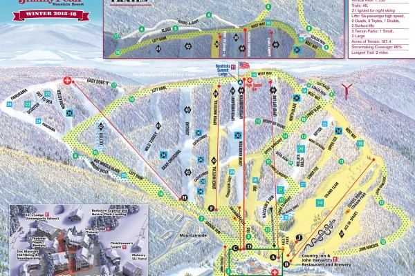 2018-19 Jiminy Peak Trail Map