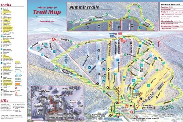 2019-20 Jiminy Peak Trail Map
