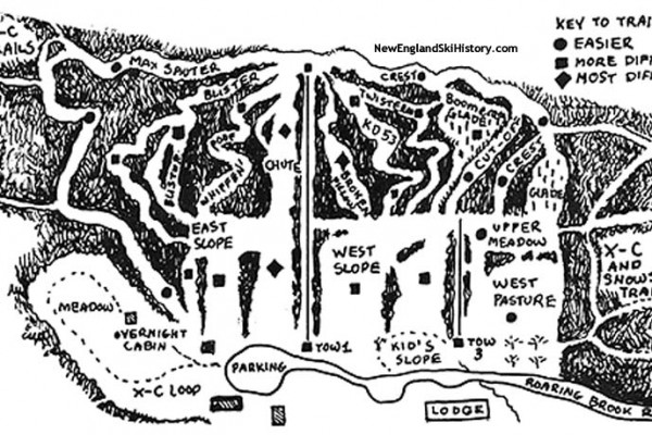 2017-18 Mt. Greylock Ski Club Trail Map