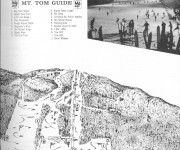 1963-64 Mt. Tom Trail Map