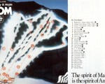 1984-85 Mt. Tom Trail Map