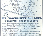 1964-65 Wachusett Trail Map