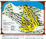 1982-83 Wachusett Trail Map