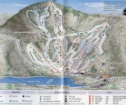 1999-00 Wachusett Trail Map